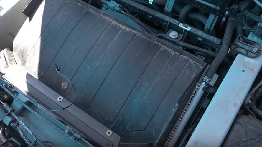See What's Underneath The Tesla Model X Front Trunk (Frunk)