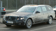 New Mercedes E-Class Wagon Spy Photos