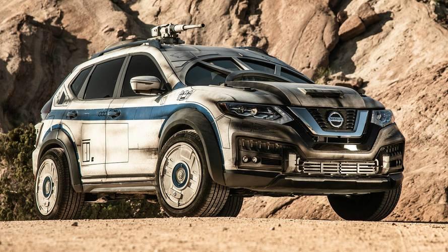 Nissan transforme un SUV en Faucon Millénium