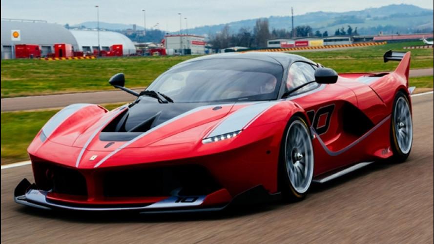 Ferrari FXX K, design da