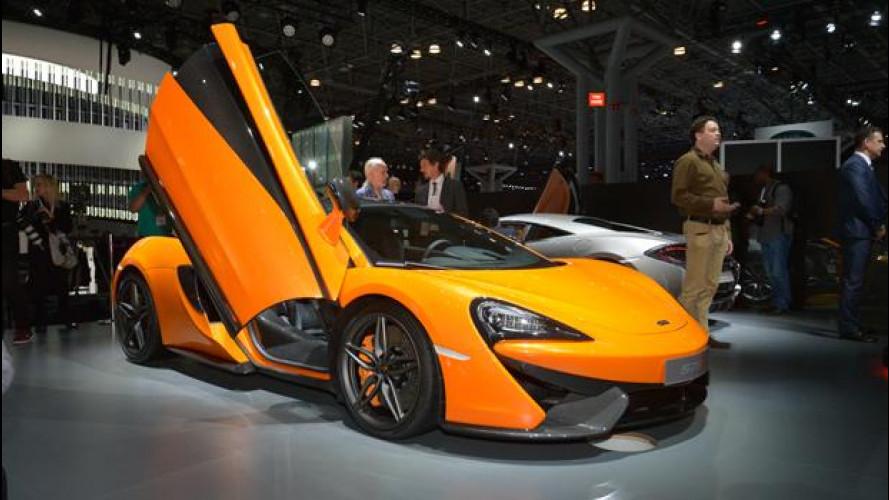 Salone di New York 2015: McLaren 570S, la 911 d'Oltremanica
