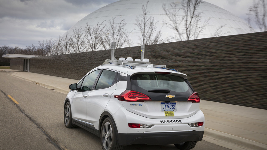 Chevy Bolt otonom test aracı