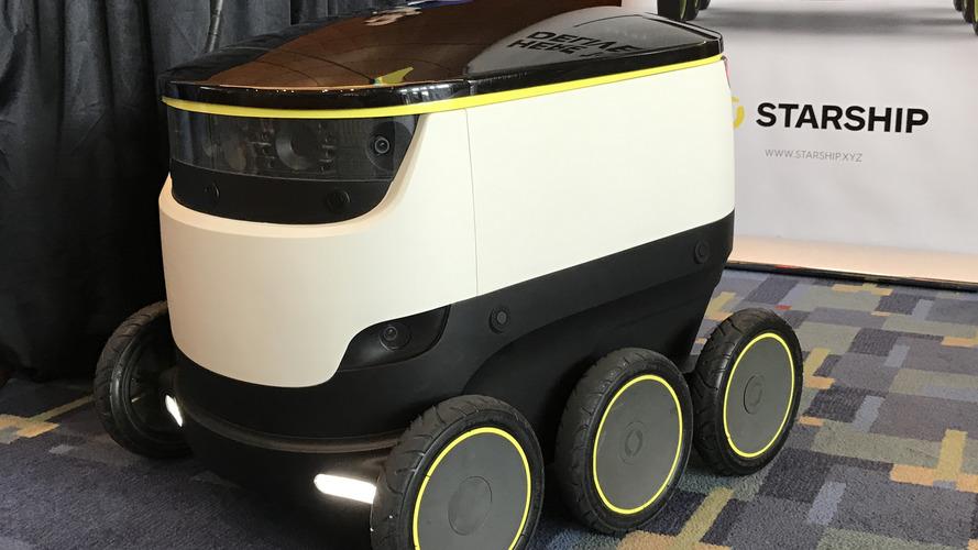 Washintgon DC is about to get cute little autonomous delivery robots