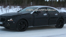 2011 Mercedes CLS Spied Winter Testing