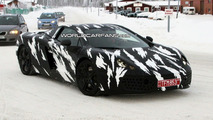 McLaren P11 winter testing spy photo