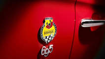 Abarth 695 Tributo Ferrari live at IAA Frankfurt 2009