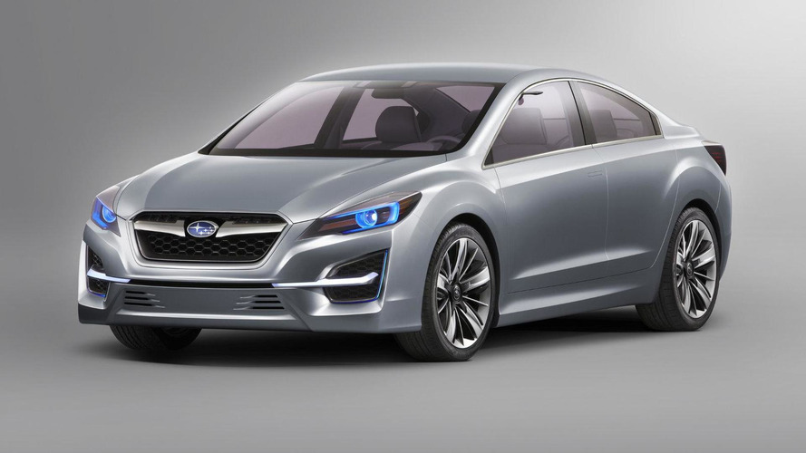 Subaru Impreza Concept previews next generation model
