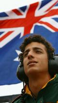 Daniel Ricciardo (AUS), driver of A1 Team Australia - A1GP World Cup of Motorsport 2007/08, Silverstone Testing 28.08.2007