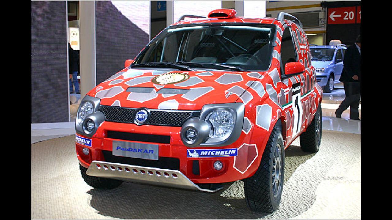 Fiat ganz sportlich