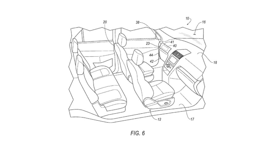 Ford Patents Removable Steering Wheel, Pedals For Autonomous Cars