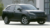 Lexus RX Spy Photo
