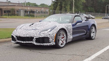2018 Corvette ZR1 spy shot