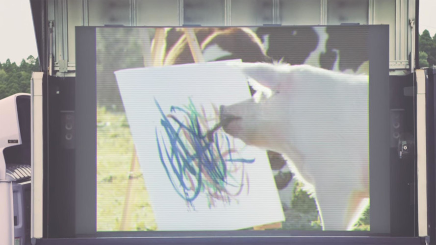 Infiniti Q50 Pig Commercial