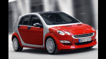 Smart Forfour mit 177 PS