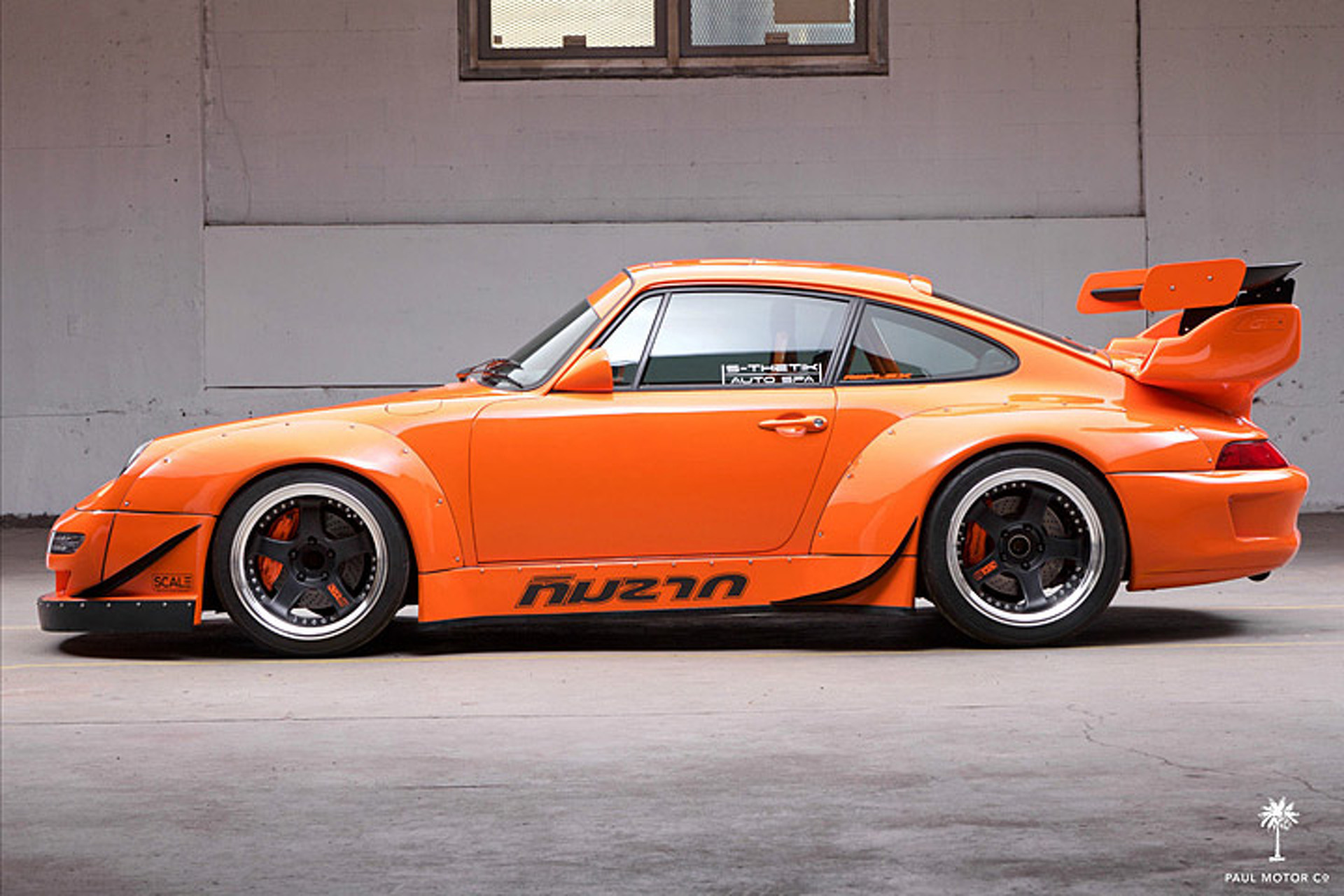Porsche 911 Not Scary Enough? This One Has a Corvette V8