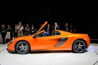 Geneva: McLaren 650S Goes Topless for the Crowd