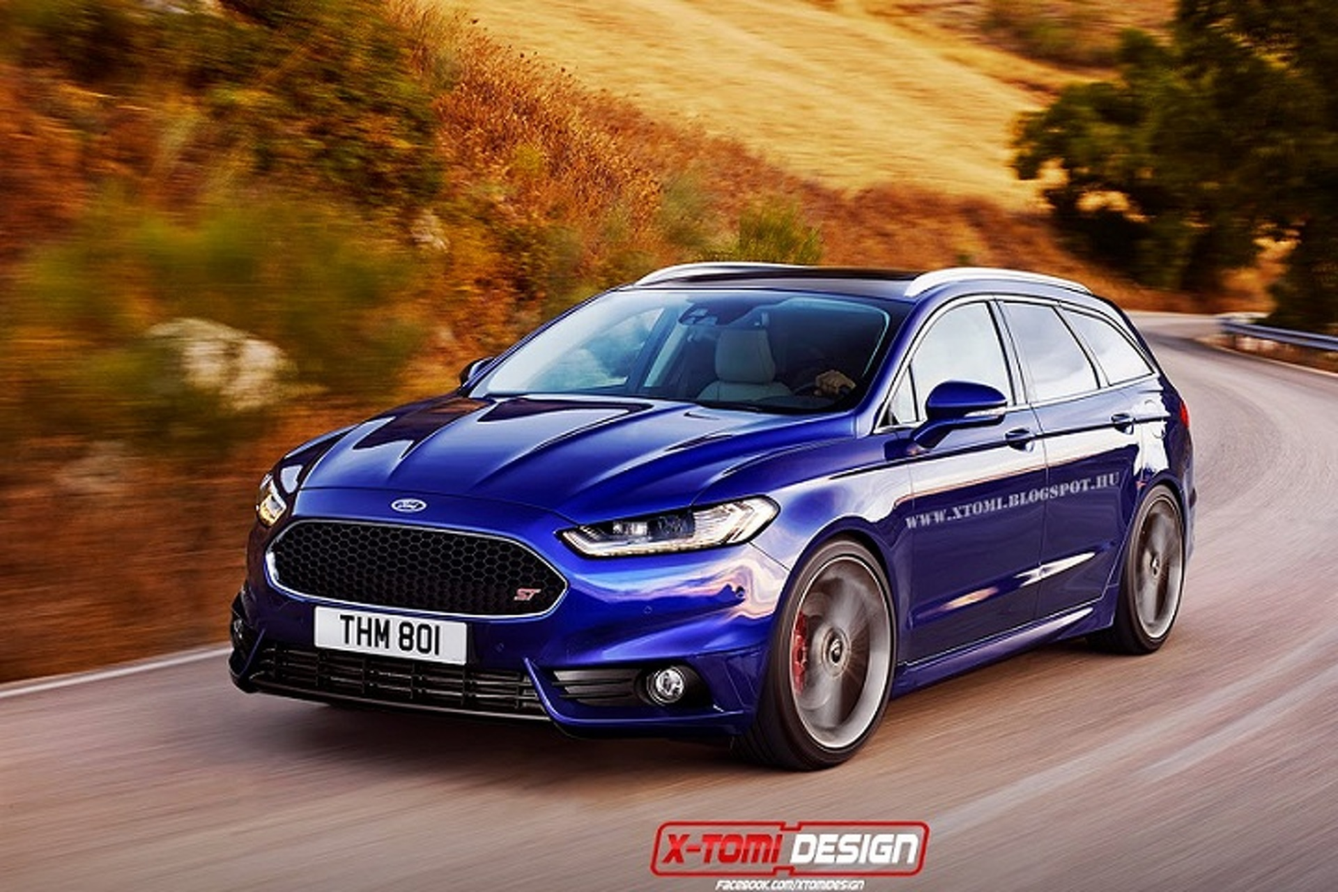 Fusion Mondeo St Rendering Makes Us Drool