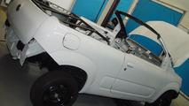 Fiat Uno Cabrio concept making, 1600, 26.10.2010