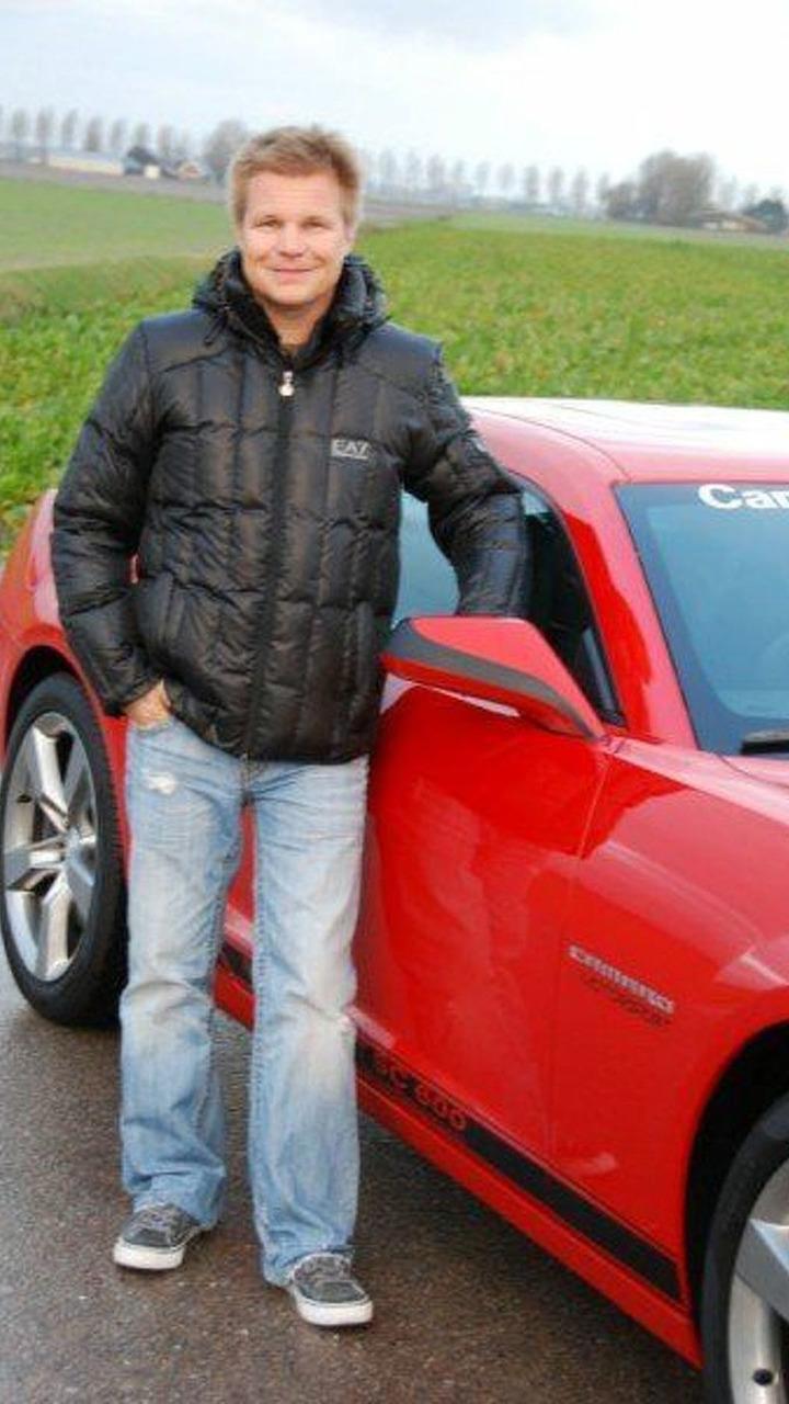 Mika Salo with his Camaro Motorsport SC600