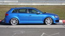 Audi RS3 prototype at Nurburgring