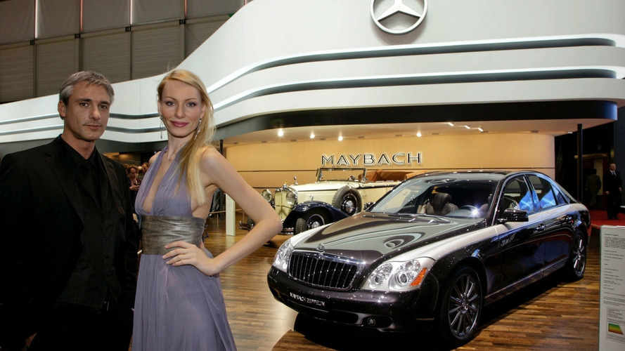 Maybach Zeppelin debuts in Geneva