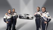 Peugeot RCZ Nurburgring race car, Jean-Philippe Peugeot, Stephane CAILLET, Cyrus Ayari, Oliver Perez 09.04.2010