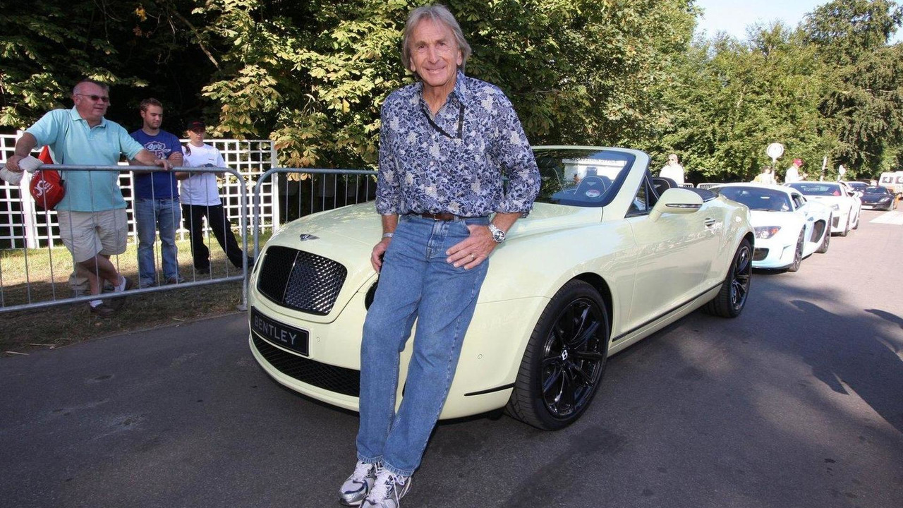 Derek Bell with Bentley Supersports Convertible at Goodwood FOS 2010, 06.07.2010