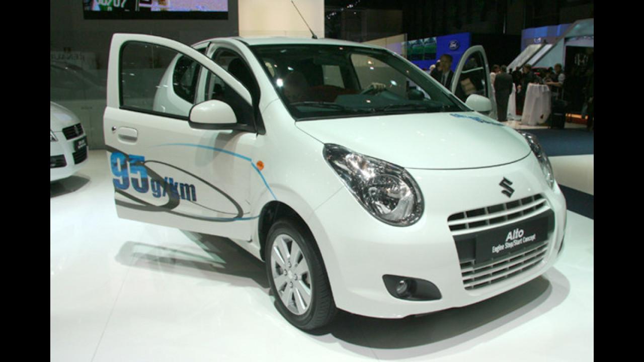 Suzuki Alto mit Start-Stopp-Automatik