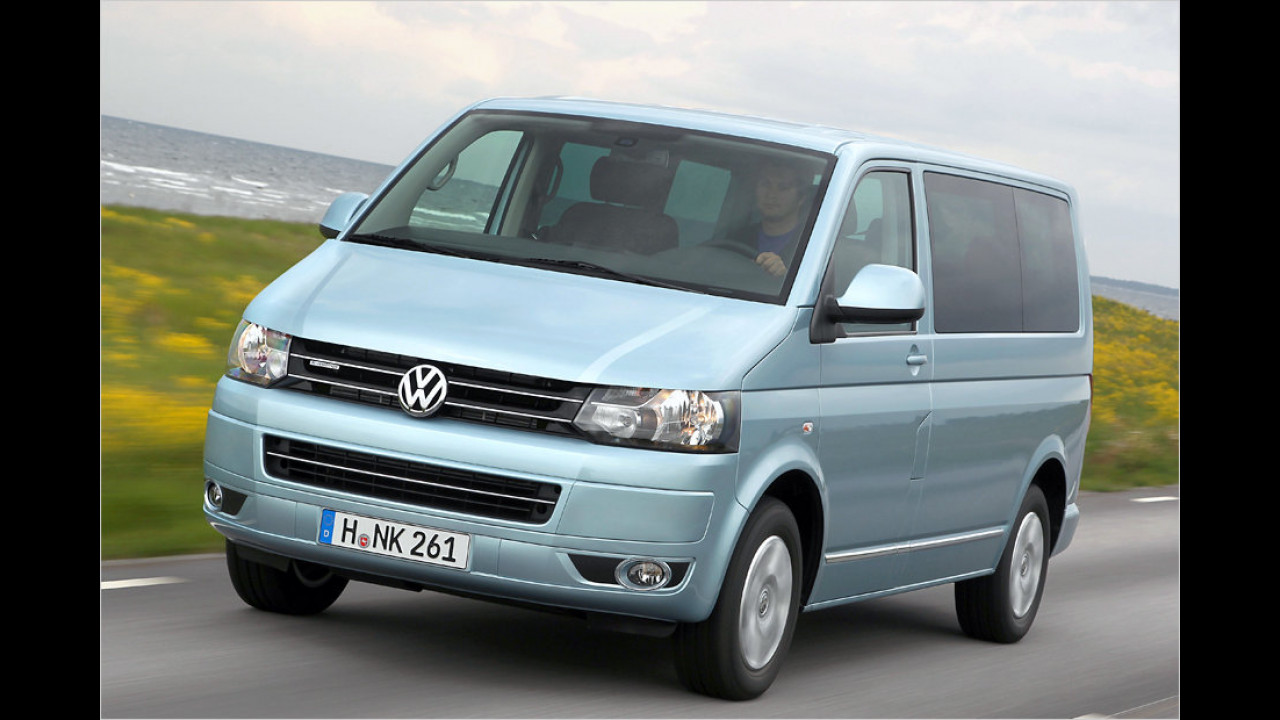 VW T5 Multivan 2.0 TDI BlueMotion