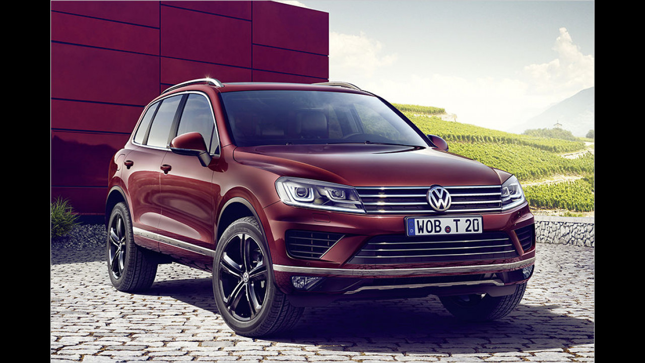 VW Touareg Executive Edition