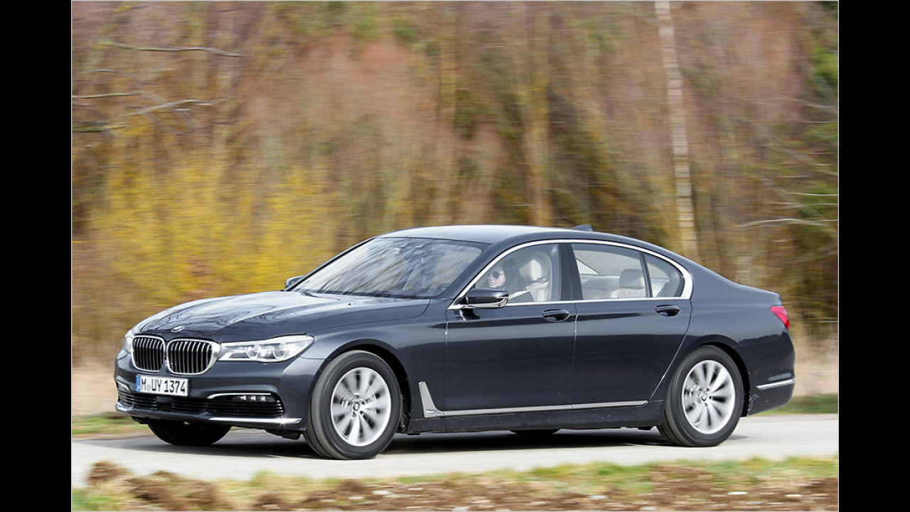 Oberklasse: BMW 730d