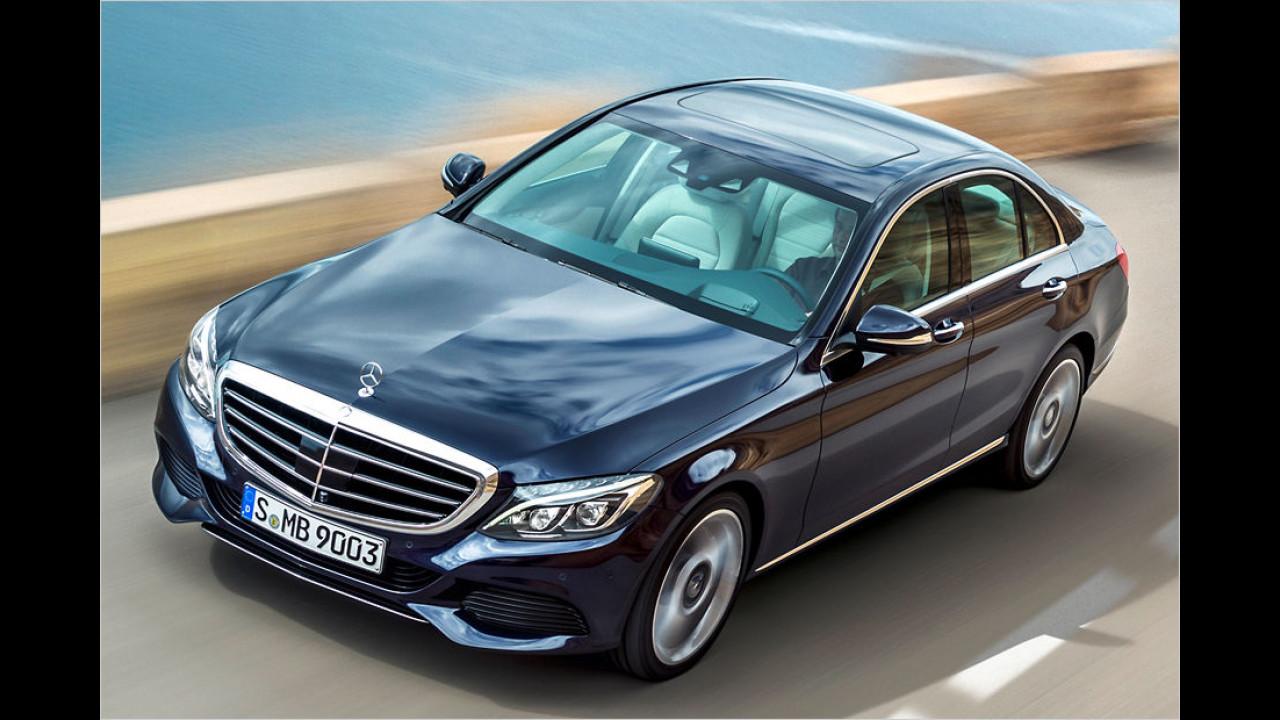 Mittelklasse, Platz 2: Mercedes C-Klasse (33.623 Stück)