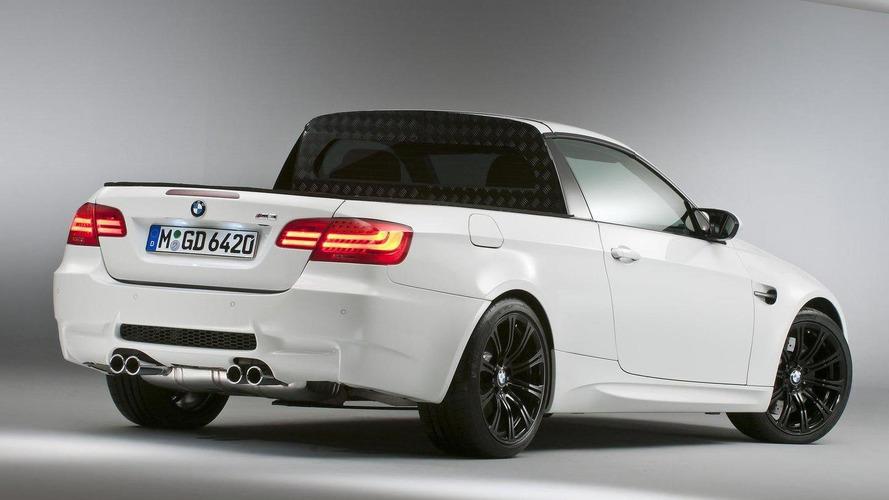 BMW isn't saying no to a pickup truck