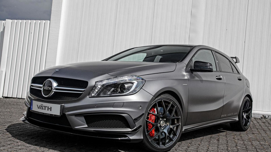 VATH tunes the Mercedes A45 AMG to 425 PS