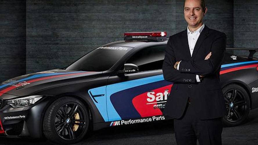 2015 BMW M4 Coupe MotoGP safety car brings its water injection system to Geneva