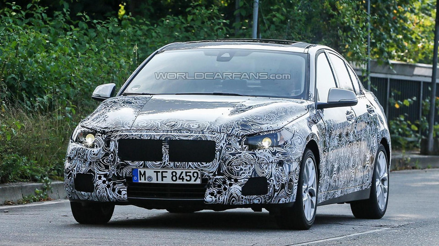 BMW 1-Series Sedan spied up close ahead of possible 2016 launch