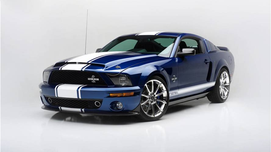 Shelby Gt500 Super Snake Auction To Benefit Vegas First