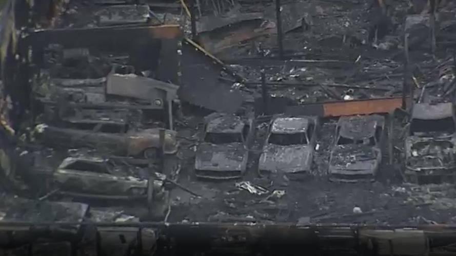 This Warehouse Of 40 Classic Cars Went Up In Flames