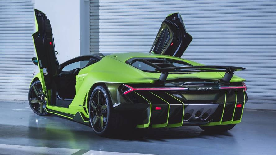 PHOTOS - Une ravissante Lamborghini Centenario à Hong Kong