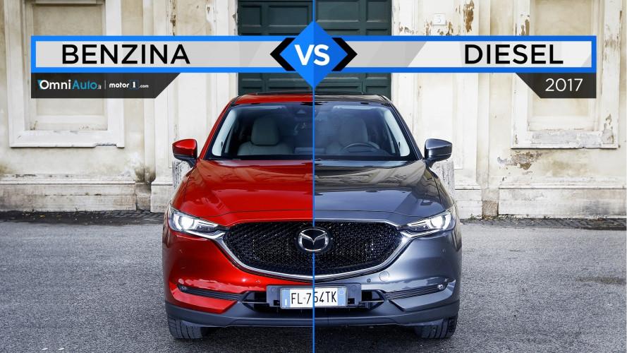 Mazda CX-5, quale scegliere tra il diesel e il benzina