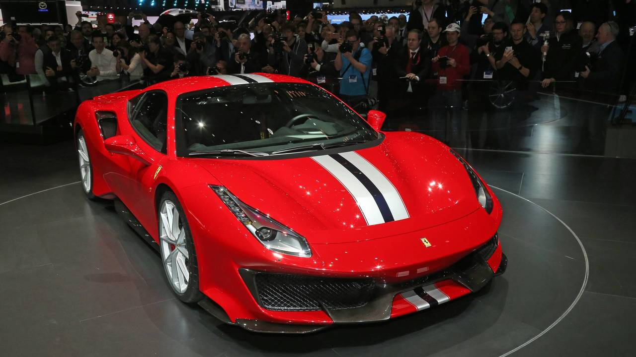 Ferrari 488 Pista Caught On Video In The Real World