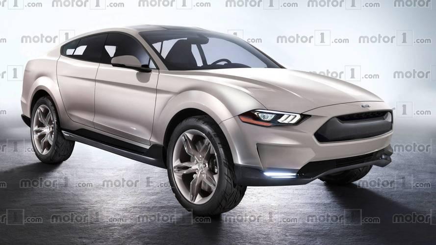 Projeção - Antecipamos o Ford Mach 1, SUV elétrico baseado no Mustang