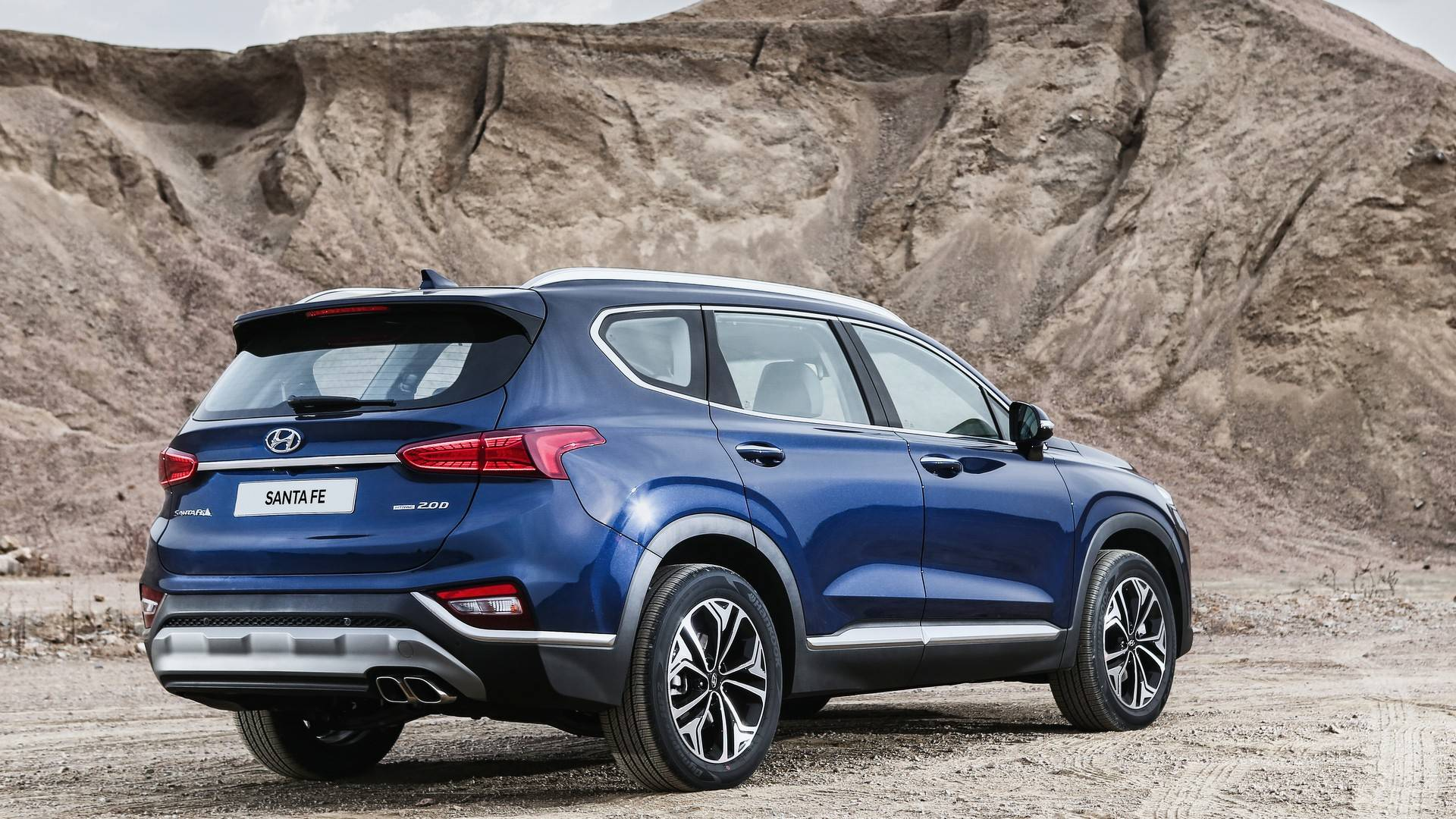 VWVortex.com - All-new 2019 Hyundai Santa Fe officially ...