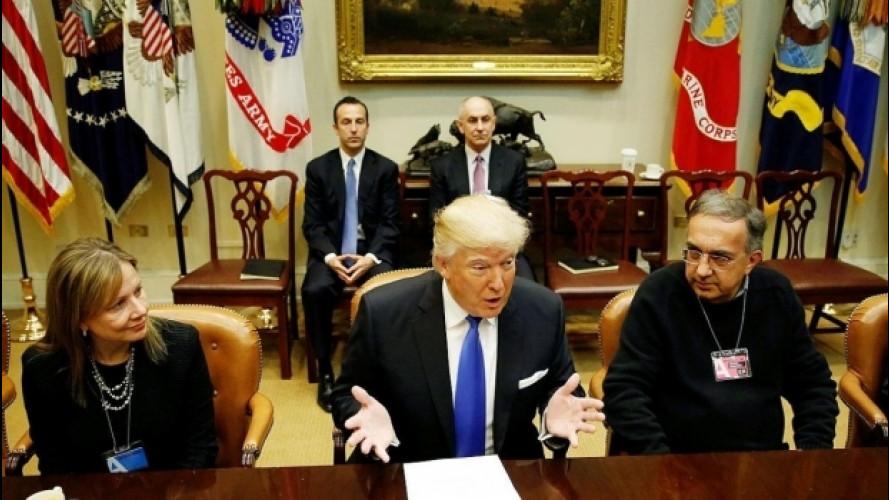 Trump fa la felicità di FCA, Ford e General Motors