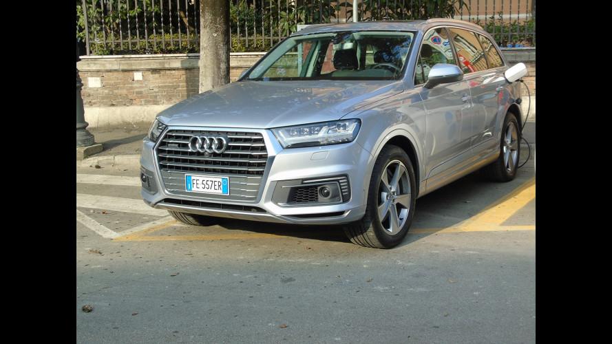 Audi Q7 e-tron, la prova dei consumi reali