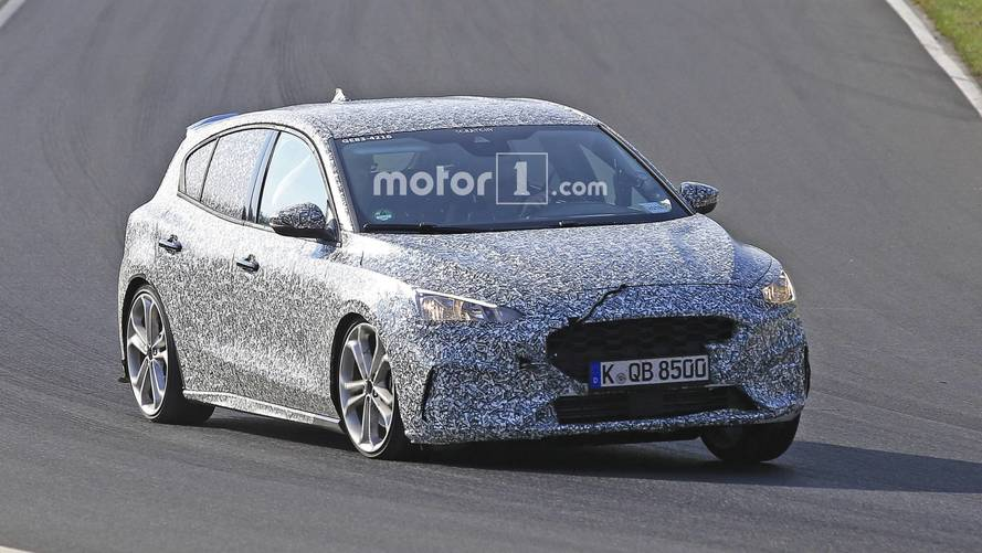 Une version sportive de la Ford Focus sur le Nürburgring