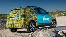 VW T-Cross als Erlkönig