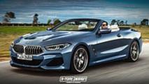 Renders BMW Serie 8 Cabrio y Shooting Brake 2018