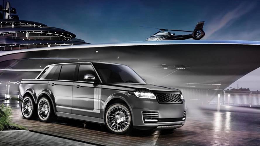 Range Rover'ın 6x6 versiyonu geliştiriliyor