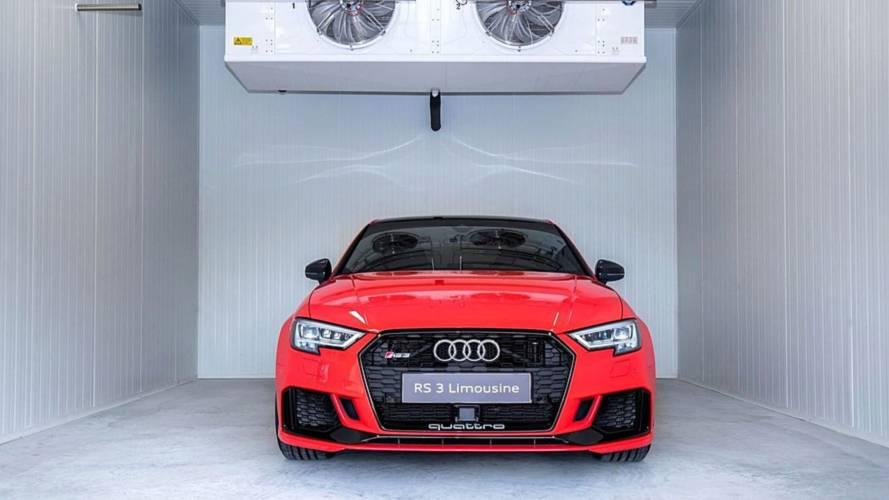 Akár mínusz 40-fokban is tesztelheti modelljeit a győri Audi
